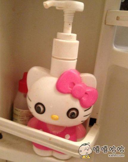 Hello Kitty如果带上美瞳。。。