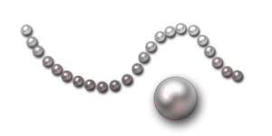 photoshop图层样式-晶莹润泽珍珠制作
