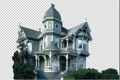 ps设计实例-打造恐怖阴森城堡