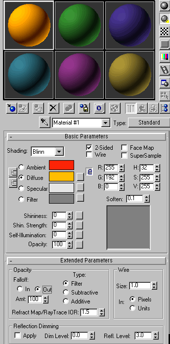 3D MAX特效:光芒四射的文字